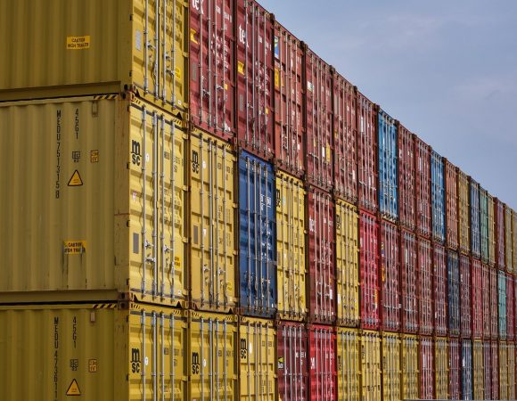 container, goods, ship